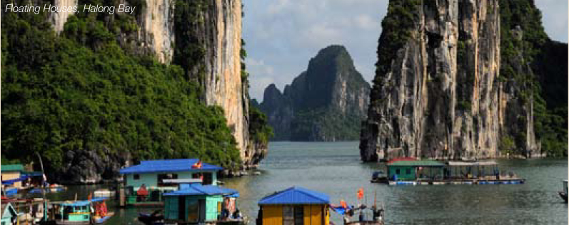 Halong Bay Floating Houses