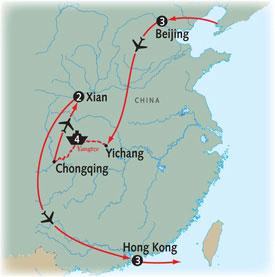 Beijing to Hong Kong & the Yangtze 13 Day Hosted ...