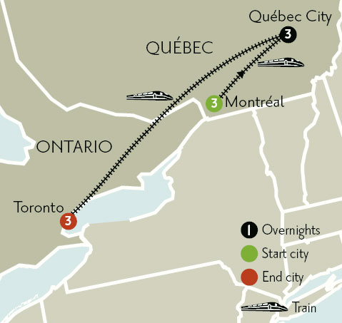 Montreal Quebec City Amp Toronto Program Details