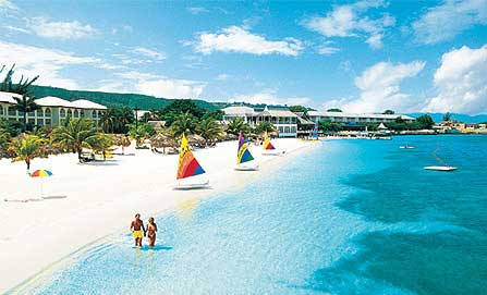 There's a lot to be said for being number one—Sandals Montego Bay is the