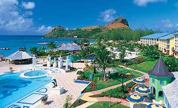 77d8a55dccac Sandals Grande St. Lucian Spa   Beach Resort. Castries