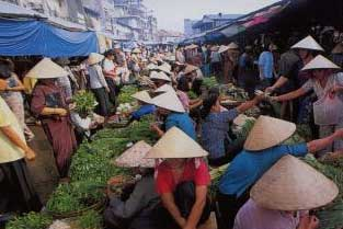 Open Air Market Ho Chi Minh City