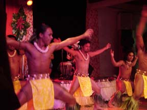 Tahitian Men Dancer
