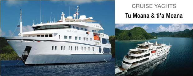 Ti A Moana Amp Tu Moana Cruises Cruising Tahitian Waters