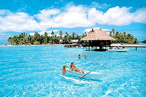 how to get to vahine island